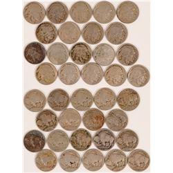 Buffalo Indian Head Nickels 1913-1914  (117643)