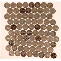 Buffalo Indian Head Nickels 1917-1919  (117649)