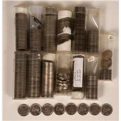 Jefferson Nickel BU Rolls  (117654)