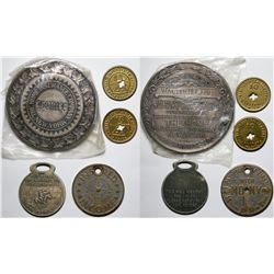 Insurance Medals Sterling Silver  (118067)
