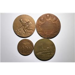 World War One Bronze Medal Collection  (119754)
