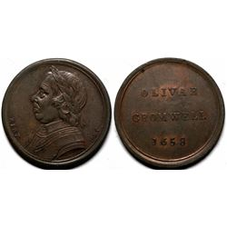 Oliver Cromwell Sentimental Magazine Medal   (120583)