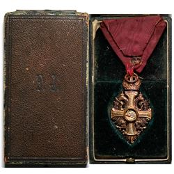 Franz Josef Award Medal - Antique  (120593)