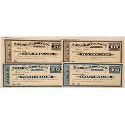 Safford, Hudson & Co. Bankers Scrip  (119119)