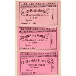 Golden Star Mines Co. Scrip  (119118)