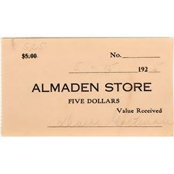Almaden Store Scrip  (119099)