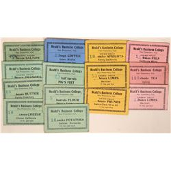 Heald's Business College Scrip Tokens  (119105)