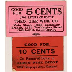 Wine Related Scrip  (119116)