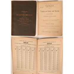 Tables of the Value of Gold and Silver  (119758)