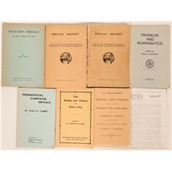 Political Books on Tokens and Medals  (119505)