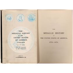 The Medallic History of the United States of America, 1776-1876  (119500)