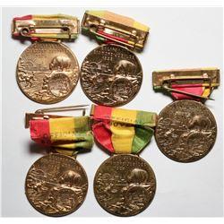 California Diamond Jubilee Souvenir Badges  (119067)