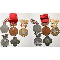 Badges (Lot of 5)  (120589)