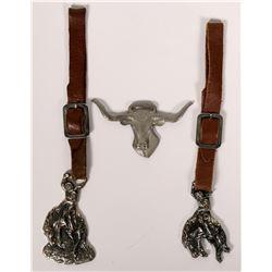 Cowboy FOB's: Lot of Three  (112059)