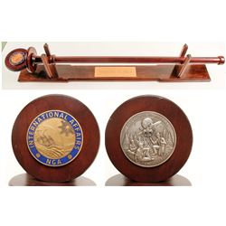 Large Ceremonial Mace by Medallic Art Company  (88632)