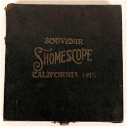 A 1915 Pan Pacific Souvenir Shomescope  (118813)