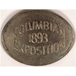 Columbian Exposition Elongated Liberty Nickel  (119071)