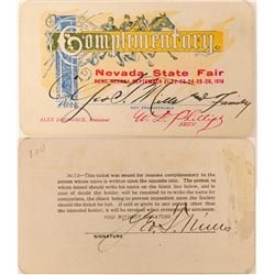 Nevada State Fair Pass  (113346)