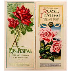 Portland Rose Festival Brochures  (117165)