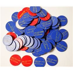 Nisei Post #8499 V.F.W. Poker Chips  (84030)