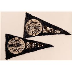 Two Mini 1937 Personalized Pennants  (117280)