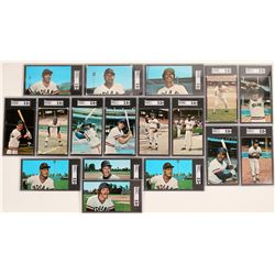 Group of 1976 Cleveland Indian Player Postcards  (119236)