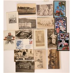 Early Pro Baseball Photos and Postcards (13)  (119702)
