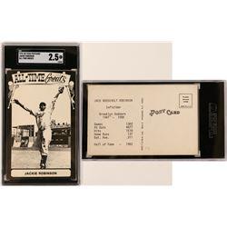 Jackie Robinson TCMA Postcard  (119215)