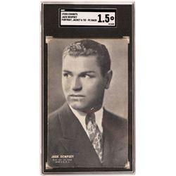 """""""Exhibit"""" Jack Dempsey Postcard  (119249)"""