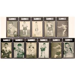 Exhibit 1942-46-Series Pro  Boxer Cards  (119264)