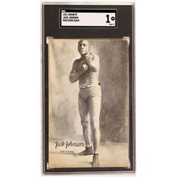 Heavyweight Jack Johnson Postcard  (119245)