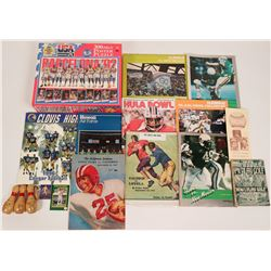 Football Programs From Various Schools and Years  (119047)