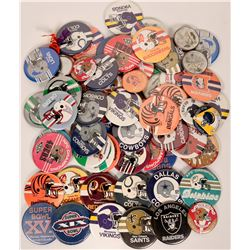 Pro Football Team Pin Backs  (119165)
