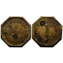 Winkelman, AZ: Silver Dollar Saloon Token (117967)