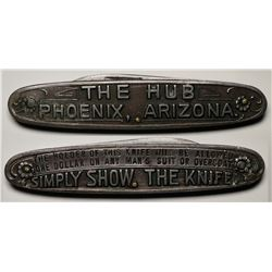 Rare Arizona GF Pocket Knife: The Hub  (119312)
