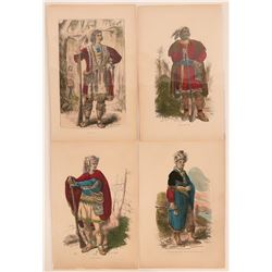 Four Native American Lithograph Prints (120215)