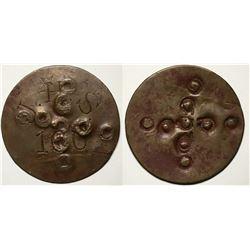 JHS Salt River Token--Earliest Known AZ Indian Trader Token (117955)