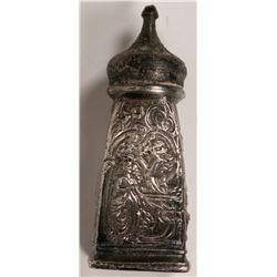 Antique Pewter Salt Shaker  (119203)