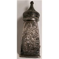 Antique Pewter Salt Shaker  (119203)