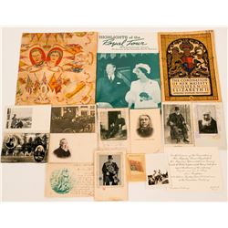 Coronation of King George VI Queen Elizabeth Souvenirs and Paul Kruger Postcards  (117294)