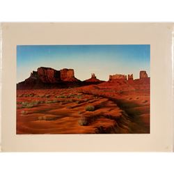 Monument Shadows, Monument Valley Color Print  (117694)