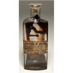 Downieville Miners' Drug Store Medicine Bottle  (119641)