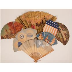 Decorative Advertising Fans  (117291)