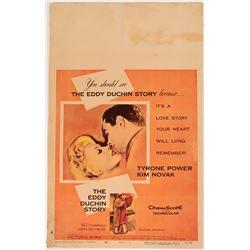 Classic American Cinema Original Movie Lobby Poster of The Eddy Duchin Story  (110376)