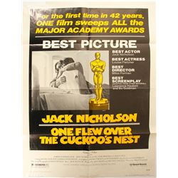 One Flew Over the Cuckoo's Nest Poster  (89935)