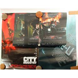 Movie Theatre Posters (5)  (86470)