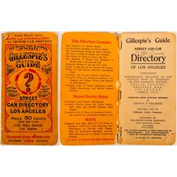 Gillespie's Guide Street and Car Directory Los Angeles  (117298)
