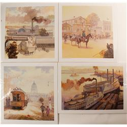 Old Sacramento Prints (4)  (90983)