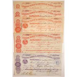 London, Paris & American Bank, Ltd. Exchanges  (77547)