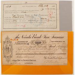 Nevada Bank of San Francisco Exchange & Promissory Note  (68001)